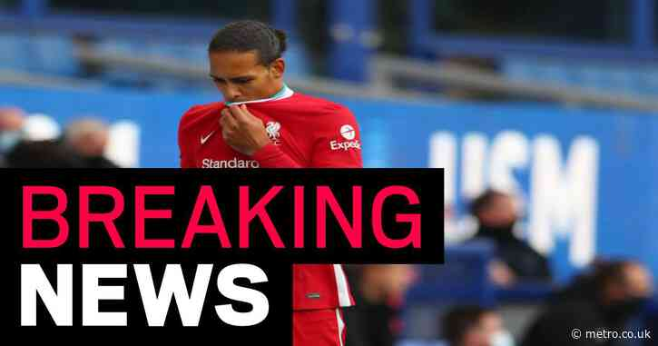 Liverpool defender Virgil van Dijk out for at least five months with ACL tear