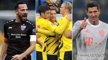 Bayern dominiert - Reus erlöst BVB - Erste Punkte für Köln und Schalke