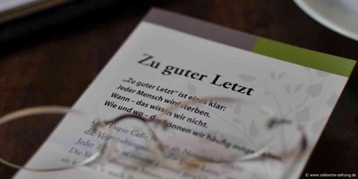 Hospiz Celle berät ab November: Das Lebensende in den Blick nehmen - Cellesche Zeitung