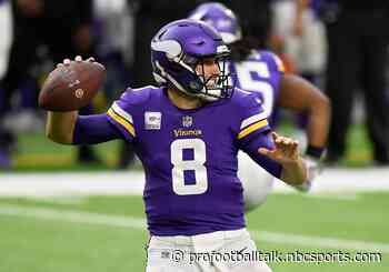 Kirk Cousins throws three interceptions as Vikings trail 20-0 at halftime
