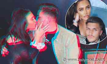 Lauren Goodger, 34, continues to put on a loved-up display withKatie Price's ex Charles Drury, 23