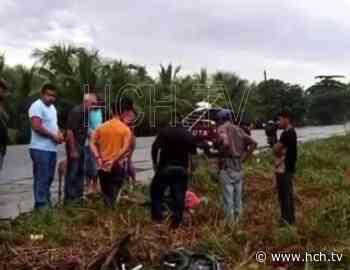Brutal accidente deja dos muertos en la Masica, Atlántida - hch.tv