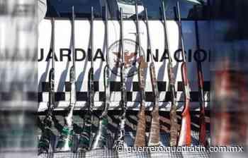 Paran vehículo con 10 armas de grueso calibre en Huitzuco - Quadratin Guerrero