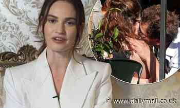 Lily James 'CANCELS Today Show appearance' amid Dominic West furore