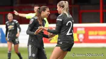 Women's Super League: West Ham United 2-4 Manchester United