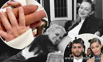 Yolanda Hadid shares tender snap of herself holding her granddaughter's tiny hand