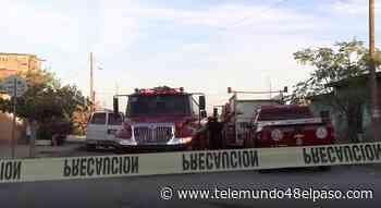 Hombre con discapacidad motriz queda atrapado en incendio en Ciudad Juarez y muere - Telemundo 48 El Paso