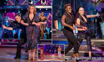 A burst of joy... with Anton the one-man HRT patch: JAN MOIR reviews Strictly Come Dancing