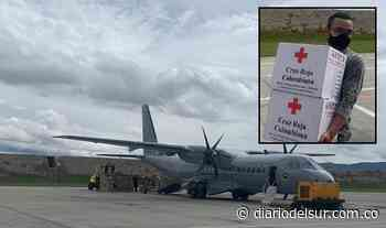 Fuerza Aérea Colombiana sigue transportando ayudas humanitarias hacia Mitú, Vaupés - Diario del Sur