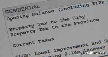 City of Calgary reports $122M in property taxes remain outstanding following deadline - Global News