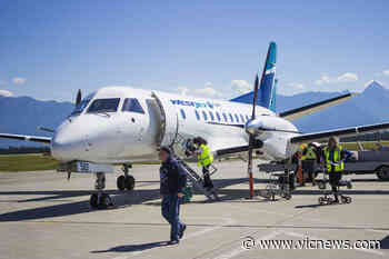 COVID-19 exposure reported on WestJet flight from Calgary to Victoria - Victoria News