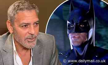 George Clooney says he was shunned by Hollywood after 1997's Batman & Robin flopped