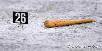 Prozess nach Angriff mit Baseballschläger im Oktober 2019 Aschersleben: Opfer erlitt Schädel-Hirn-Trauma - Mitteldeutsche Zeitung