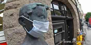 Maskenpflicht gilt ab Montag im Rathaus Aschersleben und öffentlichen Gebäuden: Ziel sind weniger Kontakte - Mitteldeutsche Zeitung
