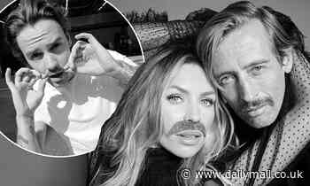 Abbey Clancy and Peter Crouch urge fans to 'grow a mo' as they join 2020 Movember campaign