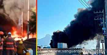 Se incendia bodega en San Nicolás Tolentino - Vanguardia de Veracruz