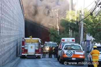 Se incendia bodega en San Nicolás - Milenio