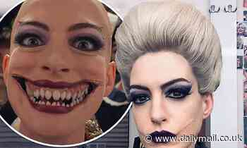 Anne Hathaway shares her 'resting witch face' in selfie from the set ofRoald Dahl's The Witches