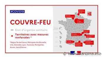 A la Une du journal, à Martigues on réagit au couvre-feu - Maritima.Info - Maritima.info