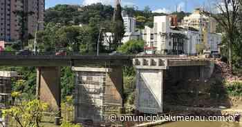 Ponte da Beira Rio ficará interditada neste domingo em Blumenau - O Município Blumenau