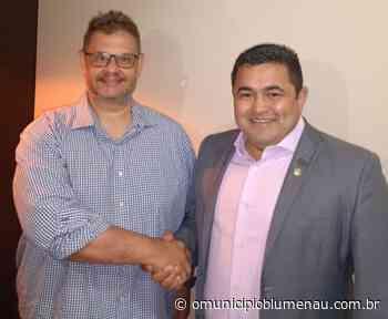 Eleições 2020: conheça o candidato a prefeito de Blumenau, Jairo Santos - O Município Blumenau