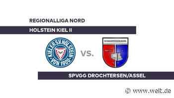 Holstein Kiel II - SpVgg Drochtersen/Assel: Kiel hat die Nase vorn - Regionalliga Nord - DIE WELT