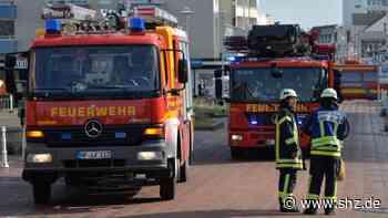 Feuerwehreinsatz in Westerland: Blinder Alarm im Westerländer Kurzentrum | shz.de - shz.de