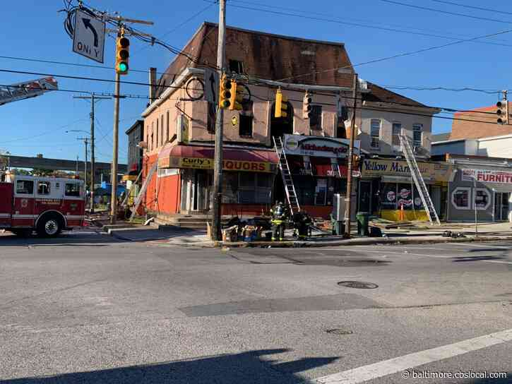 Fire Officials Investigating Cause Of 2-Alarm Fire At North Baltimore Store