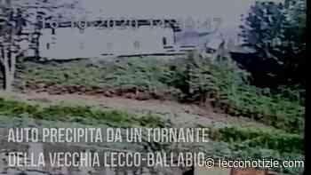 VIDEO – Il pauroso 'volo' dell'auto oltre il tornante della Lecco-Ballabio - Lecco Notizie