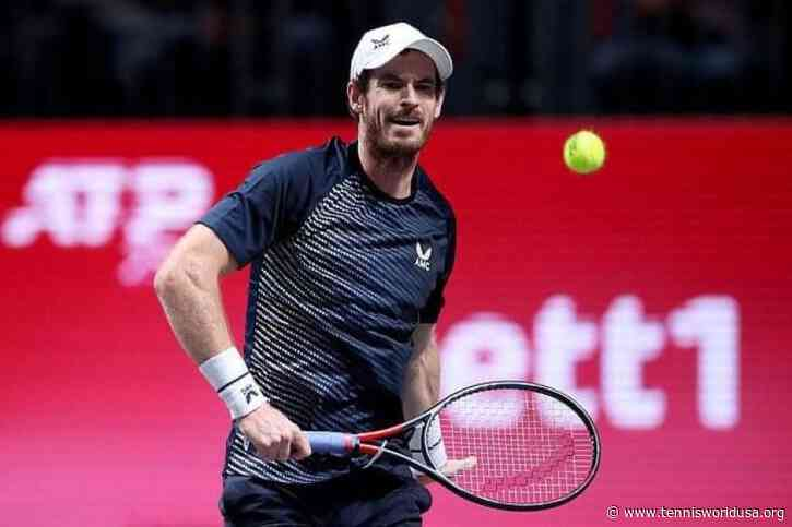 Andy Murray pulls out of Cologne 2, might not play anymore in 2020