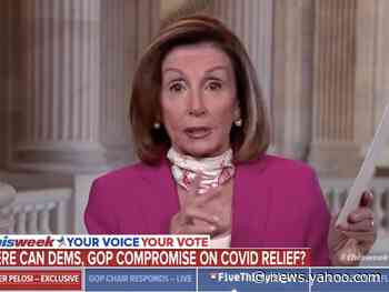 Pelosi said Democrats and Trump administration don't agree on language used in stalled coronavirus relief package