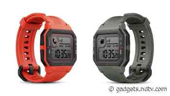 Amazfit Neo Retro-Style Smartwatch With 28 Days Battery Life Launched in India - Gadgets 360