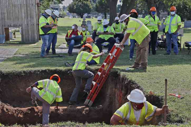 Tulsa digs again for victims of 1921 race massacre