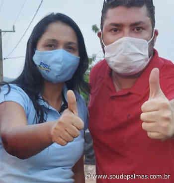 O povo do Tocantins já conhece Vanda Monteiro, agora é a vez de Palmas sentir de mais perto sua força; ... - Sou de Palmas