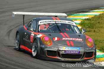 Porsche Cup: Nelson Monteiro comemora superação e vitória na última volta em Interlagos - Yahoo Esportes