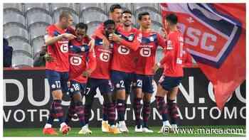 El Lille golea al Lens y se hace fuerte en el liderato de la Ligue 1 - MARCA.com