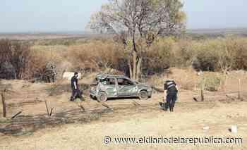 Fuerte vuelco en la Autopista 25 de Mayo: dos mujeres heridas - El Diario de la República