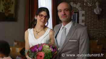 Xavier et Olivia se sont mariés à Auchy-les-Mines - La Voix du Nord