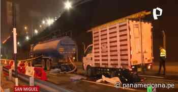 San Miguel: accidente vehicular en la Costa Verde deja saldo de dos personas fallecidas | Panamericana TV - Panamericana Televisión