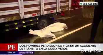 San Miguel: Violento accidente en la Costa Verde dejó dos personas fallecidas - Diario Trome
