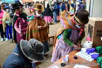 Outgoing president calls for Bolivia patience with slow vote count