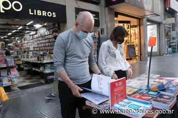 Rodríguez Larreta recorrió las librerías de Avenida Corrientes - buenosaires.gob.ar