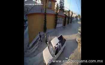 Muestran video de presuntos asaltantes en Buenos Aires Sur - El Sol de Tijuana