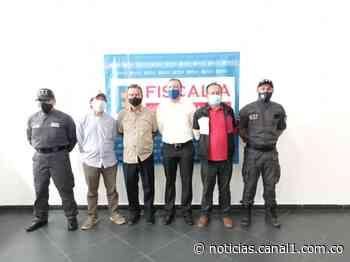 Aseguran al alcalde de Marsella (Risaralda), por presuntas irregularidades en contrato de transporte - Canal 1