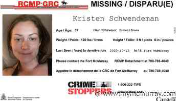 RCMP say missing 37-year-old woman known to frequent Timberlea - mymcmurray.com