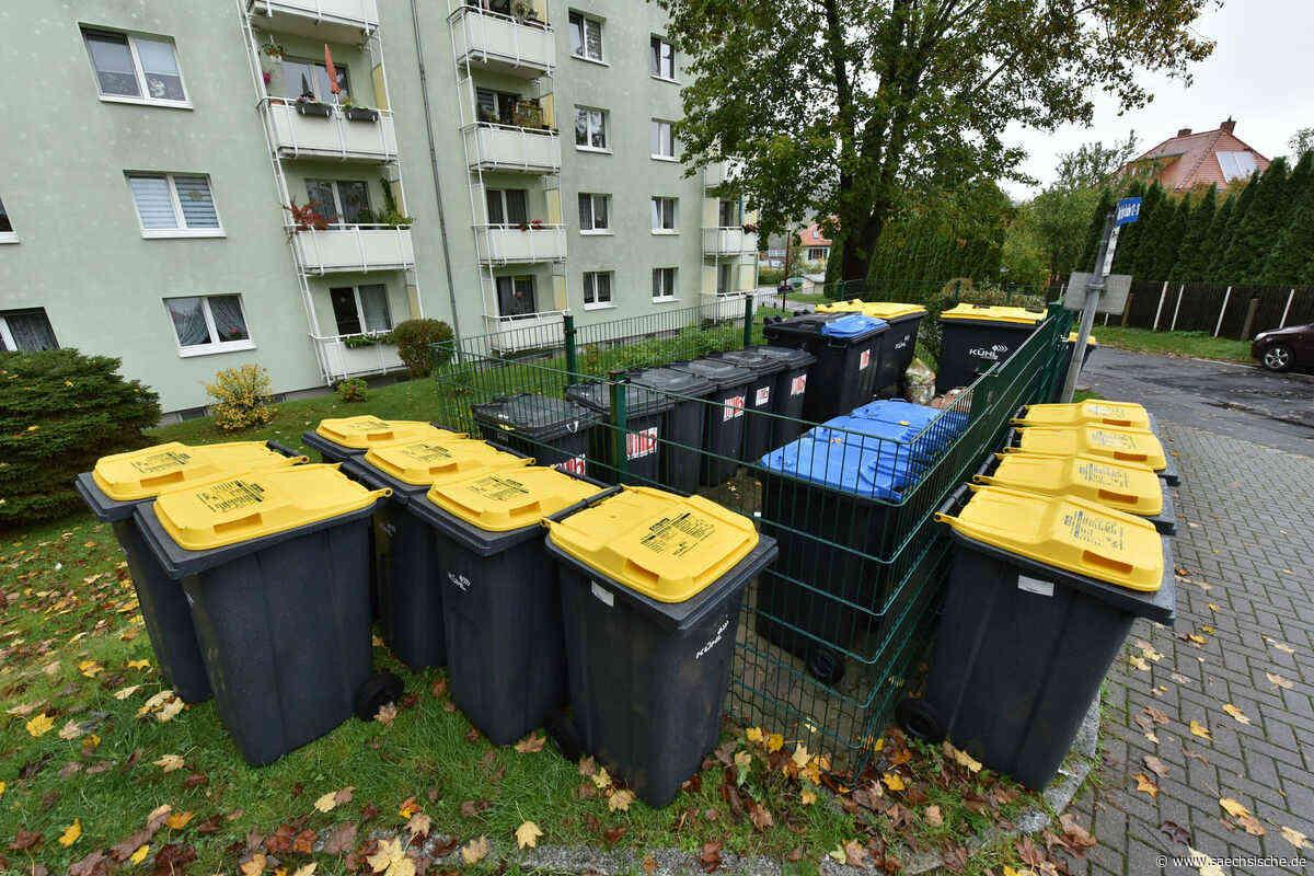 Freital: Ärger um Gelbe Tonnen - Sächsische Zeitung