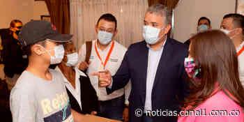 Gobierno entrega obra de remodelación del aeropuerto Antonio Nariño de Chachagüí - Canal 1