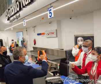 El presidente Iván Duque entregó remodelado el Aeropuerto Antonio Nariño en Chachagüí - La República