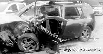 Trágico accidente en la vía de Pasto a Chachagüí, una estudiante fallecida y dos heridas - Extra Pasto