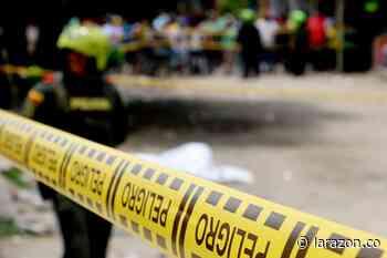 Racha de crímenes en Montelíbano, joven de 18 años fue asesinado a tiros - LA RAZÓN.CO